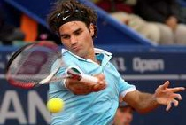 Roger Federer in Portuguese Open Tennis Tournament
