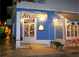 Atlantico restaurant in Guia near Albufeira